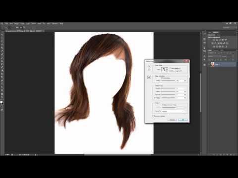 Photoshop Tutorial: Değiştirme Saç Rengi - Hd-