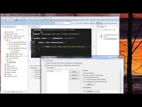 Eclipse Java Ve Php Geliştirme İpuçları 5: İşaretleri Görünümü