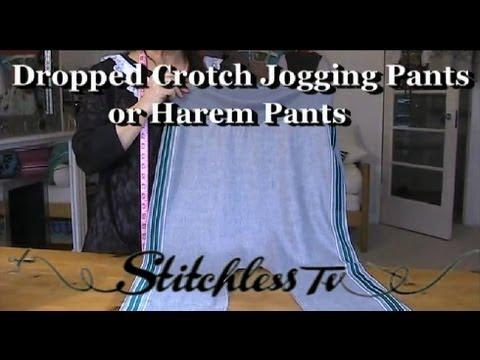Dikiş Öğretici: Dıy Nasıl Yapmak Harem Stil Koşu Pantolon Online Dikiş Sınıfı