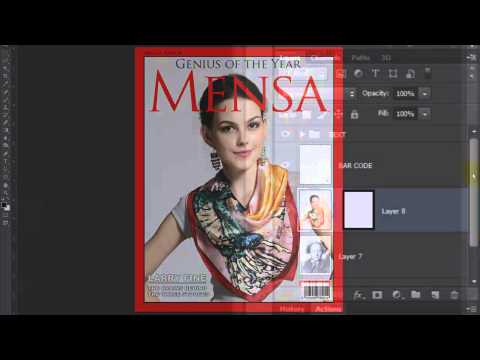 Photoshop: Bir Özel, Dergi Kapak Biri Fotoğraf Yapmak Nasıl