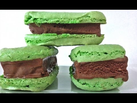 Macaron Buz Krem Sandviç Tatlı Tarifi Bu Ann Reardon Yemek Yapmayı