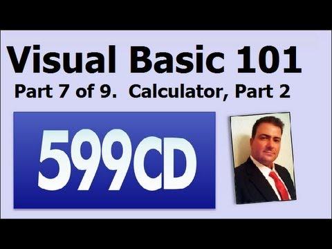 Visual Basic 101 Öğretici Part 7 / 9