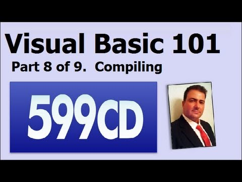 Visual Basic 101 Öğretici Part 8 / 9