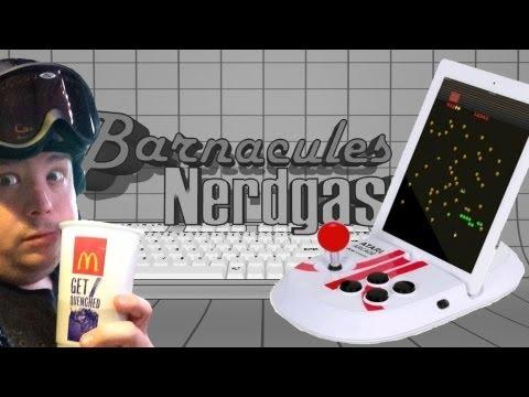 Sarhoş Unboxing Atarı Arcade Duo İpad Joystick Dock - Atari Arcade Klasikleri