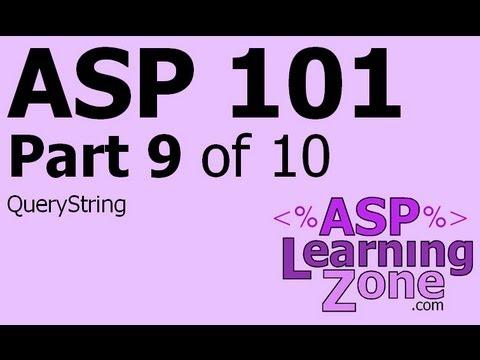 Active Server Sayfaları Öğretici Asp 101 Bölüm 10 09: Sorgu Dizesi