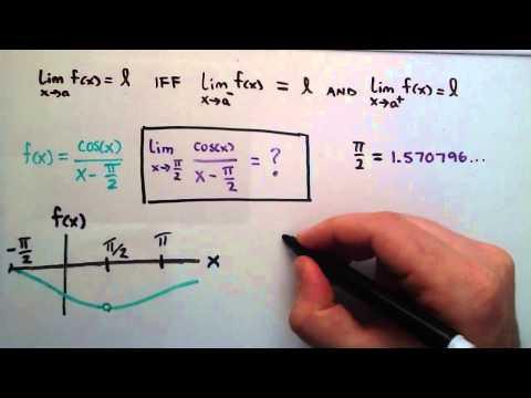 Sınırları, Matematik 1, Ders 2 Giriş