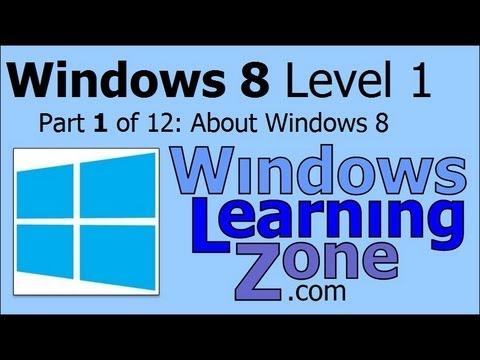 Microsoft Windows 8 Öğretici Bölüm 01 12: Windows 8 Hakkında