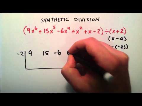 Nasıl Sentetik Division Örnek 2