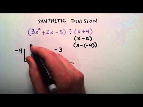 Nasıl Sentetik Division Örnek 3