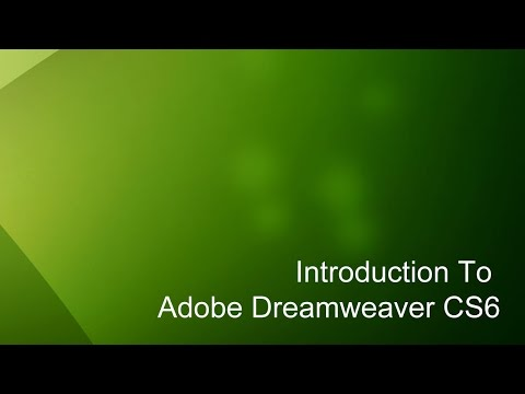 11 - Dreamweaver Eğitimi (Cs6) Giriº