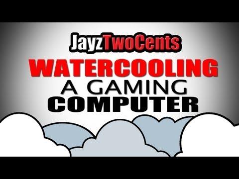 Nasıl Watercool Bir Bilgisayar - Bölüm 1 / 2 İçin
