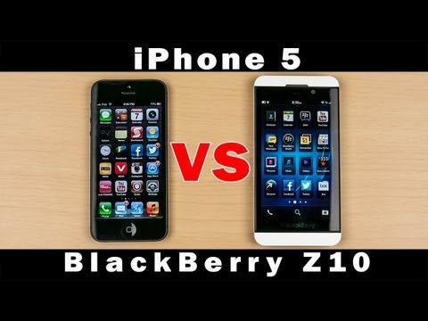 Blackberry Z10 Vs İphone 5 - Tam In-Depth Karşılaştırma