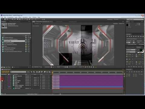 Devlet Setleri - Bölüm 7 - Bağlantı Dosyası Adobe After Effects Açılış Kullanarak