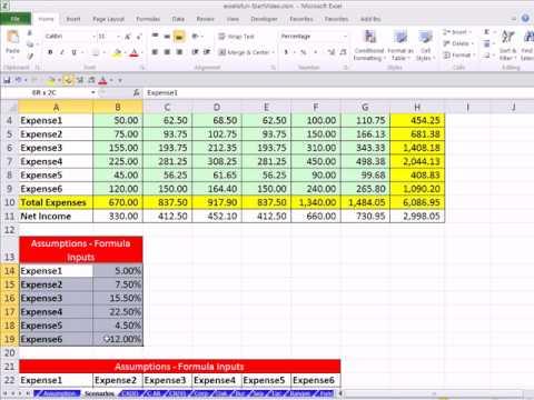Cinayetin Excel Ejderha Kitap #18: Ne Varsa Ve Senaryo Analizi Excel