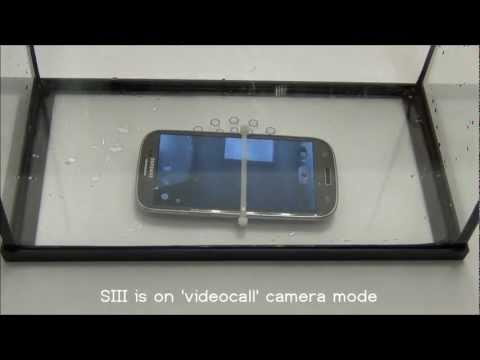 Kırık Nanofics Samsung S3 Açık Su Dunk Test Ortada Bir Dava Yok Damage.mp4