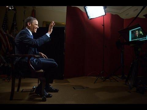 Başkan Obama Üzerinde Google + Ocak Başı Bir Mekân, Yer Aldığı