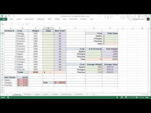6 - Excel 2013 Ders