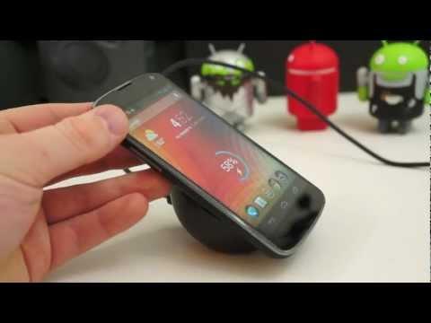 Nexus 4 Kablosuz Şarj Cihazı İle Uygulamalı