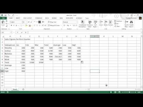 3 - Excel 2013 Ders