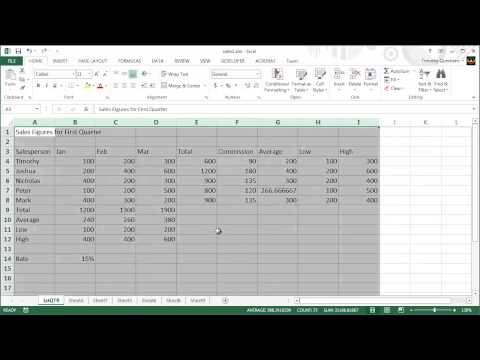 4 - Excel 2013 Ders