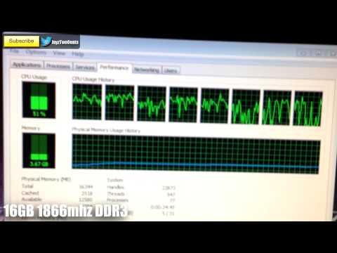 4Gb Vs 8Gb Vs 16Gb Sistem Ram - Tek Vs Çift Kanal