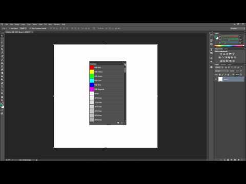 60 İkinci Photoshop Eğitimi: Css Onaltılı Kodları - Hd Renk Örneklerini İçe-