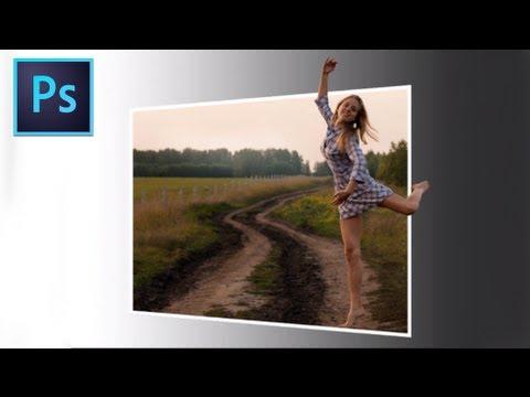 Adobe Photoshop Cs6 - [Dışında Sınırları Etkisi] [3D]
