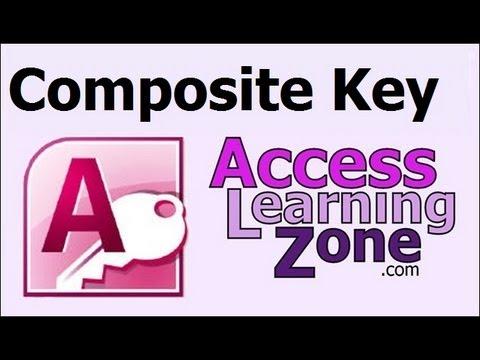 Microsoft Access Bileşik Anahtar Dizini Öğretici