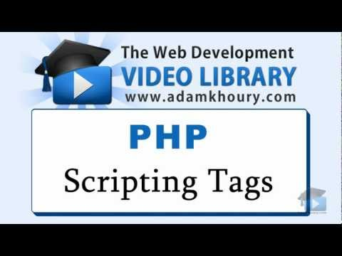 Php Dersleri - Php Komut Dosyası Etiketlerini Yeni Başlayanlar İçin