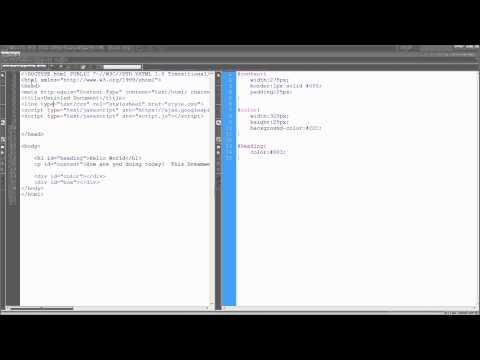 Dreamweaver Eğitimi: Kullanım Split Görüntülemek Daha Etkili Bir Şekilde (Html/css Split) - Hd-