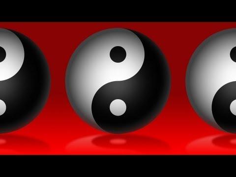 Photoshop: Nasıl Make Antik Yin Yang Sembolü