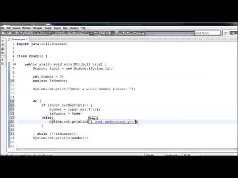 Java Eğitimi - 11 - Kullanıcı Girişi Doğrulama