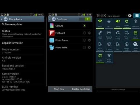 Samsung Galaxy S3 Android 4.2.1 Sızıntısı Güncelleştirmek