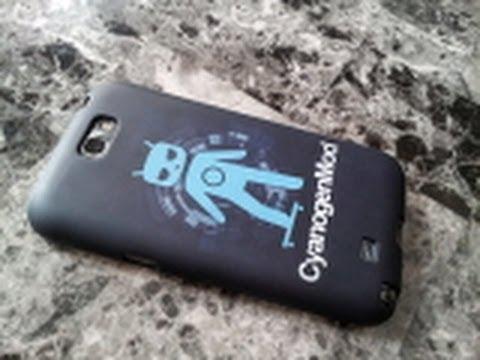 Galaxy 2 Not Cyanogenmod Case İnceleme
