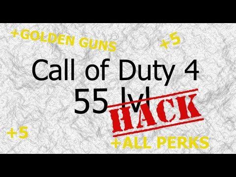 Nasıl Unlock Kesmek/call Of Duty 4-55 Lvl [Çalışma]