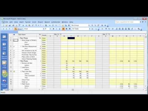 Microsoft Project 2007 Pt 3 (Kaynak Tesviye Ve Raporları)