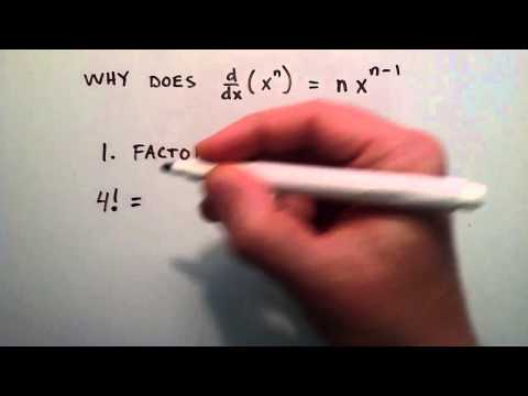 Çarpınım - Neden D/dx Nedir (X ^ N) = Nx^(N-1), Bölüm 1