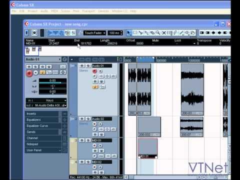 İndirme İle İlk MIDI Kayıt Yapmak İçin Nasıl 10 - MIDI & İndirme Video Eğitimi -