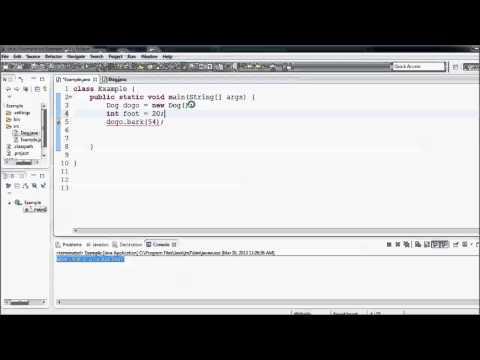 Bağımsız Değişkenleri Yöntemleri İçin Geçen Java Eğitim - 15-