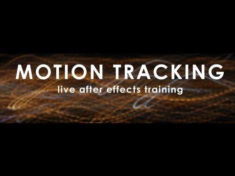 Hareket İzleme: After Effects Eğitim Canlı