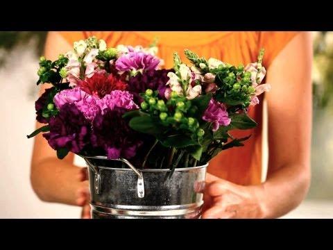 Nasıl Ucuz Çiçek Düzenlemek İçin | Düğün Çiçekleri