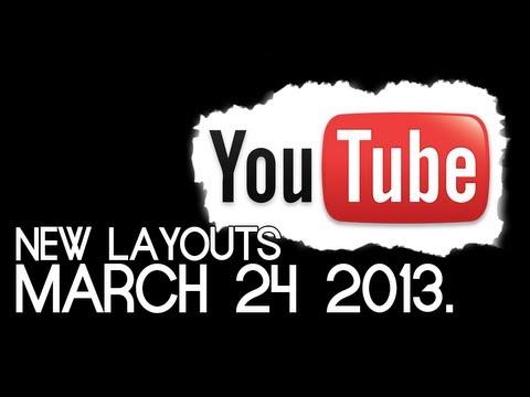 Yeni Youtube Kanal Düzeni/tasarım Şablonu [Güncelleme Mart 2013]