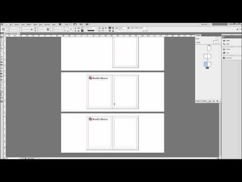 Indesign Eğitimi: Şablonları - Hd Oluşturmak İçin Ana Sayfaları Kullanarak-