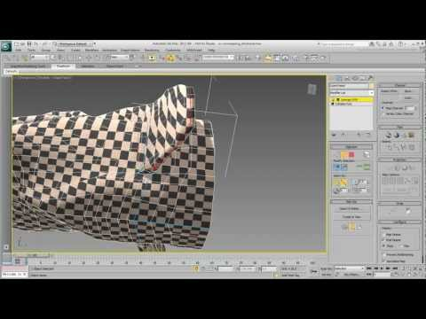 Uv Unwrapping - Bölüm 8 - Organik Modeli