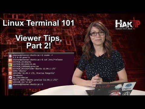 Haktip - Linux Terminal 101: Görüntüleyici İpuçları Part 2!