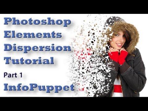 Photoshop Elements 10, 11 Dağılım Bölüm 1 Photoshop Elemanları Eğitimi