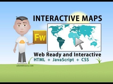 Etkileşimli Dünya Harita Öğretici Html Javascript Php Havai Fişek Ülke