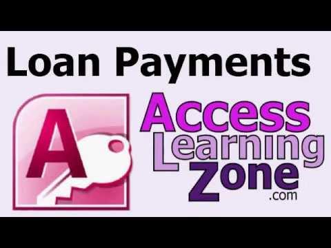 Microsoft Access'te Borç Ödemelerini Hesaplamak
