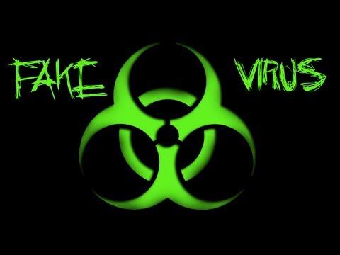 Nasıl Virüs [Sahte Virüs Saldırısı] Sahte Yapmak [Hd]