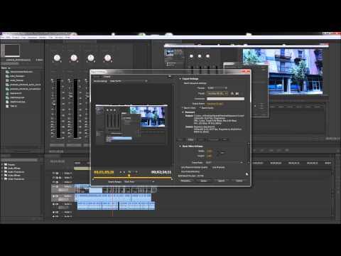 Premiere Öğreticisi: İhracat Hd Video Youtube - Hd İçin-